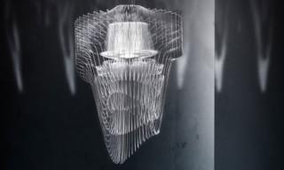 "Zaha Hadid Designs ""Almost Aquatic"" LED Chandeliers for Slamp"