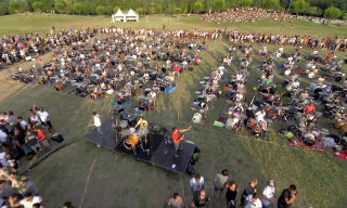 "1,000 Musicians Come Together to Play Foo Fighters' ""Learn To Fly"""