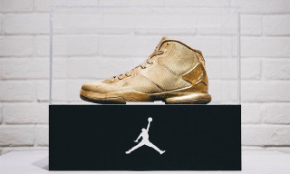 Jordan Brand Presents 23-Karat-Gold Jordan Super.Fly 4