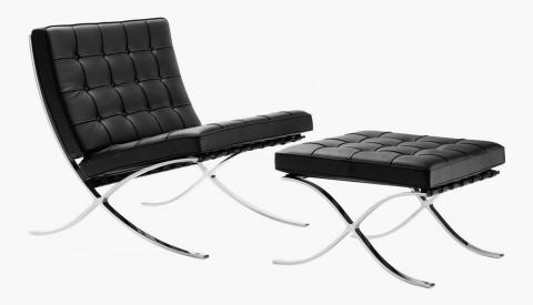 Barcelona Chair 2 480x275 - 15 designs icônicos de mobiliário