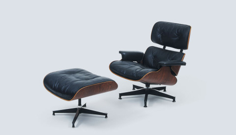 Ordinaire Model: Eames Lounge Chair Designer: Charles And Ray Eames Year: 1956