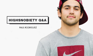 Paul Rodriguez On Air Jordans, Travel Essentials and More