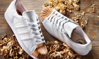 Afew, adidas Originals & Ivan Beslic Give the Superstar 80s a Wooden Toe
