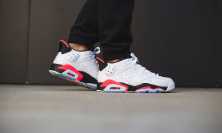 "Jordan Brand Delivers the Air Jordan 6 Low ""White Infrared"""