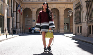 Street Style: Aleali May in NikeLab, Louis Vuitton and More
