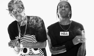 A$AP Rocky & Wiz Khalifa Join Forces for a European Tour This Fall