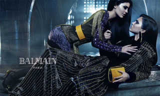 Kendall and Kylie Jenner Front the New Balmain Campaign