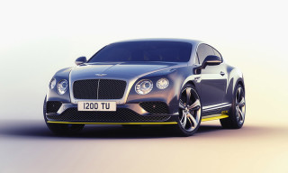 Bentley and Breitling Come Together for Continental GT Speed Jet Team Series