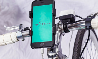 Charge Your Phone While Riding Your Bike With Spinetics
