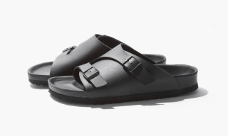 Birkenstock for BEAUTY & YOUTH Release All-Black Zurich