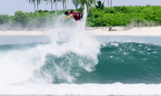 Pro Surfer Marc Lacomare Takes on Waves off the Coast of Indonesia in 'Cruising Down The Islands'