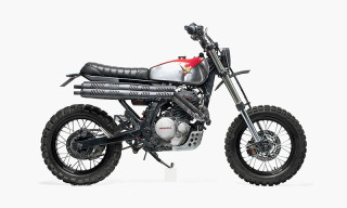 Dream Wheels Heritage and Nuno Capêlo Design One-of-a-Kind Custom Scrambler