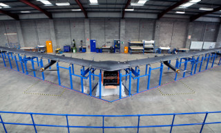 Facebook Launches Solar-Powered Drone for Worldwide Internet Access