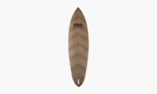 IRIS Produce Surfboard Crafted From Reclaimed Skate Decks
