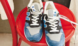 "J.Crew and New Balance Team up on 996 in ""Neptune Blue"""