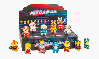 Kidrobot and Capcom to Release Full Mega Man Capsule Collection