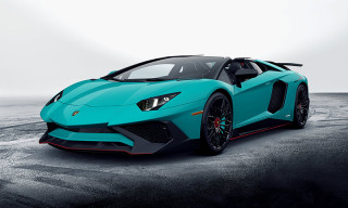 A First Look at the Lamborghini Aventador LP750-4 SuperVeloce Roadster
