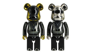 "Medicom Toy Releases Daft Punk ""Random Access Memories"" Stainless Steel Bearbrick Set"