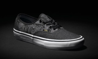 """Mister Cartoon Lends His Signature Style to the Vans Syndicate Authentic """"S"""""""