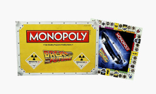 The Air MAG & Hoverboard Are Game Pieces in 'Back To The Future' Monopoly