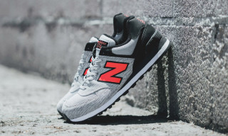 """New Balance Releases the 574 in """"Grey/Black/Orange"""" for Summer"""