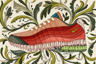 6280fc1383c9 Nike Highlights the Anatomy of the Air Max 95 via Artists Illustrations