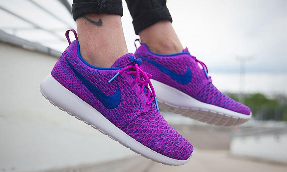 ... nike makes the roshe one pop in purple highsnobiety ...