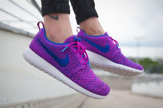 Nike Makes the Roshe One Pop in Purple