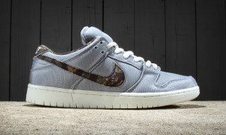 "Nike SB's Dunk Low Premium Gets a ""Wolf Grey"" Ballistic Nylon Makeover"