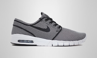 Nike SB Releases Black and White Mesh Makeup of the Stefan Janoski Max