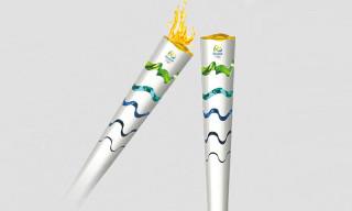 Rio de Janeiro 2016 Olympic Torch Design Revealed