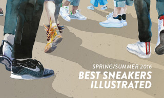 The Spring/Summer 2016 Season's Best Sneakers Brought to Life in Vivid Color