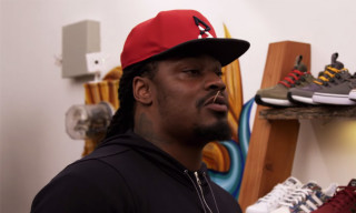 Marshawn Lynch Goes Beast Mode While Sneaker Shopping With Complex