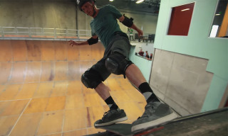 Watch Tony Hawk Ride a Cardboard Skateboard
