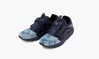 "5525gallery x UNITED ARROWS & SONS Release PUMA Disc Blaze ""Indigo"""