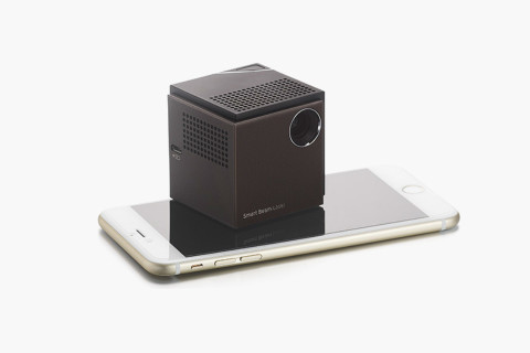 Uo smart beam laser projector highsnobiety for Worlds smallest hd projector