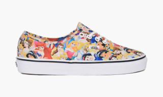 Vans' Authentic Gets Taken Over by Disney Princesses