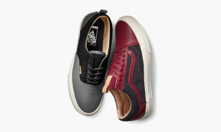 Vans Releases Leather and Wool Pack for Fall 2015
