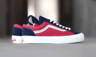 "Vans Vault Releases the OG Style 36 LX ""Peacoat/Cranberry​"""