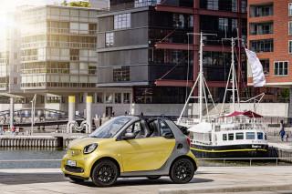 Smart Reveals the Fortwo Cabrio