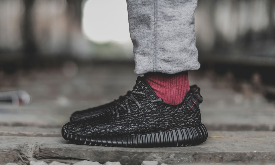 Comparison: Adidas Yeezy Boost 350 Pirate Black (2015 vs. 2016