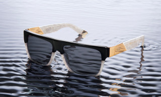9Five Eyewear Release Their Limited White Croc Etch Collection