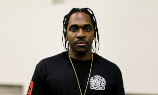 Street Style: Pusha T in Play Cloths and Yeezy Boost 350