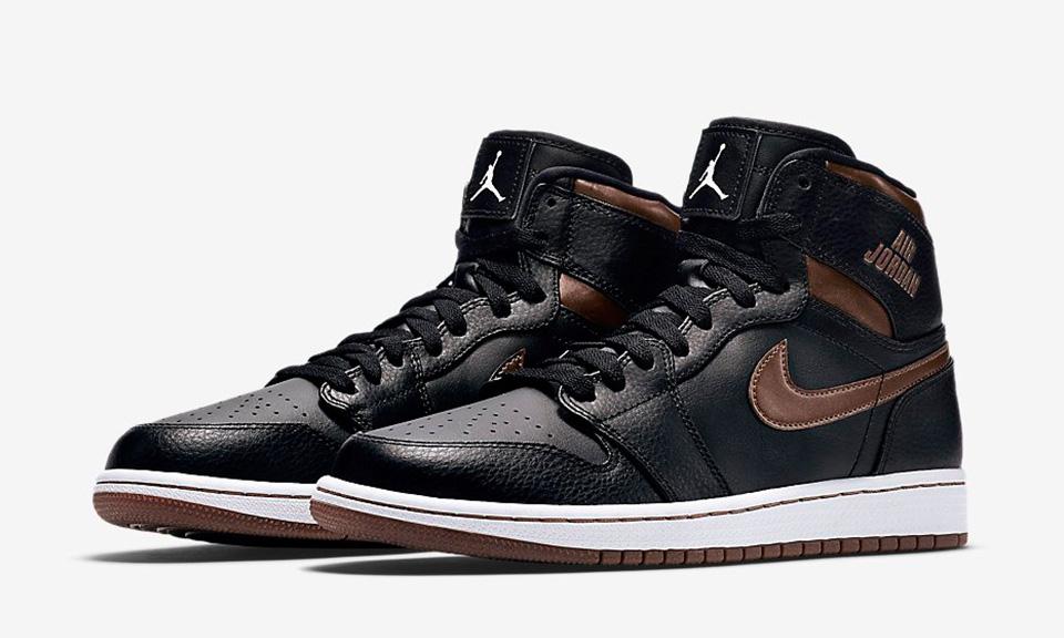 Air Jordan 1 Rétro Élevées Rares Bagues En Bronze De Lair