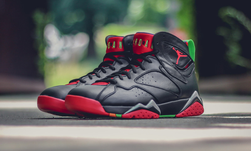 sports shoes 1507b ec0cb Air Jordan 7 Retro Marvin The Martian Highsnobiety new