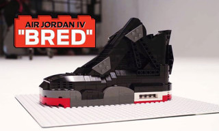 Watch the Air Jordan IV 'Bred' Reimagined in LEGO