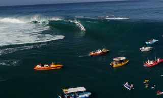 A Breathtaking Aerial Profile on Surf Culture in Tahiti