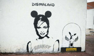Paris Hilton Joins Dismaland in Banksy's Latest Mural