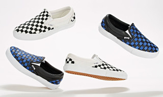 Barneys New York Teams With Vans for Upscale Checkerboard Slip-Ons