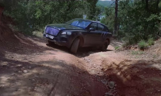 Watch the New Bentley Bentayga Tear It up Off-Road